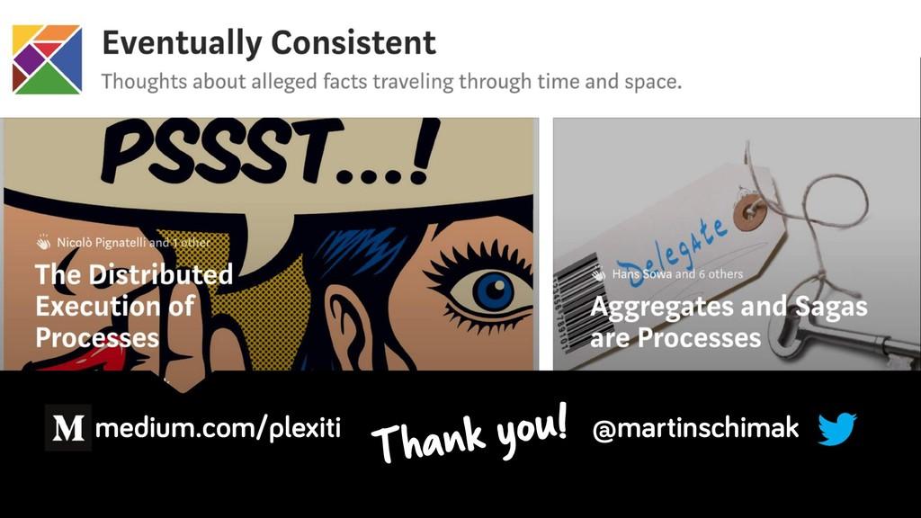 medium.com/plexiti @martinschimak Thank you!