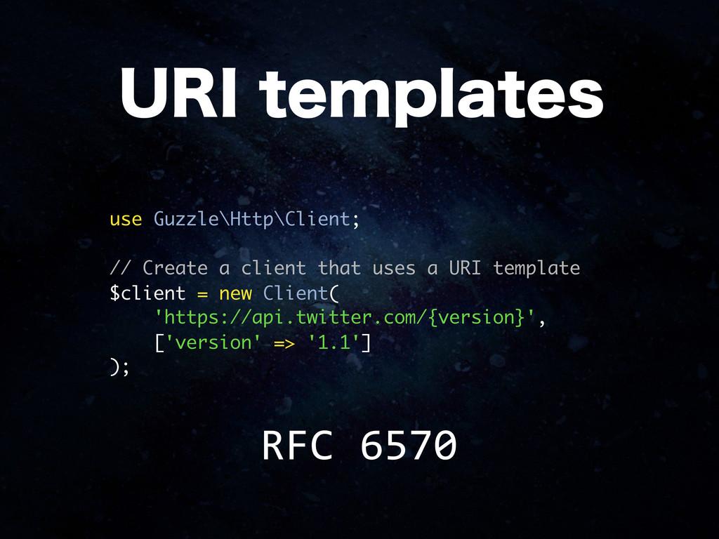 use Guzzle\Http\Client; // Create a client that...