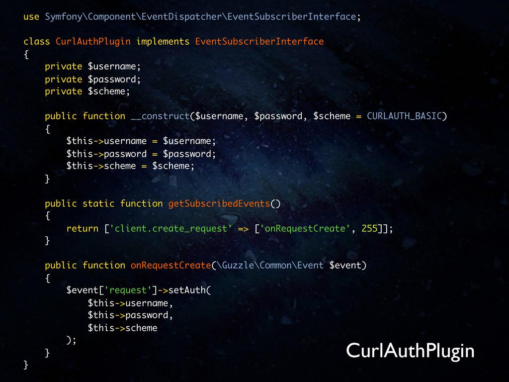 use Symfony\Component\EventDispatcher\EventSubs...