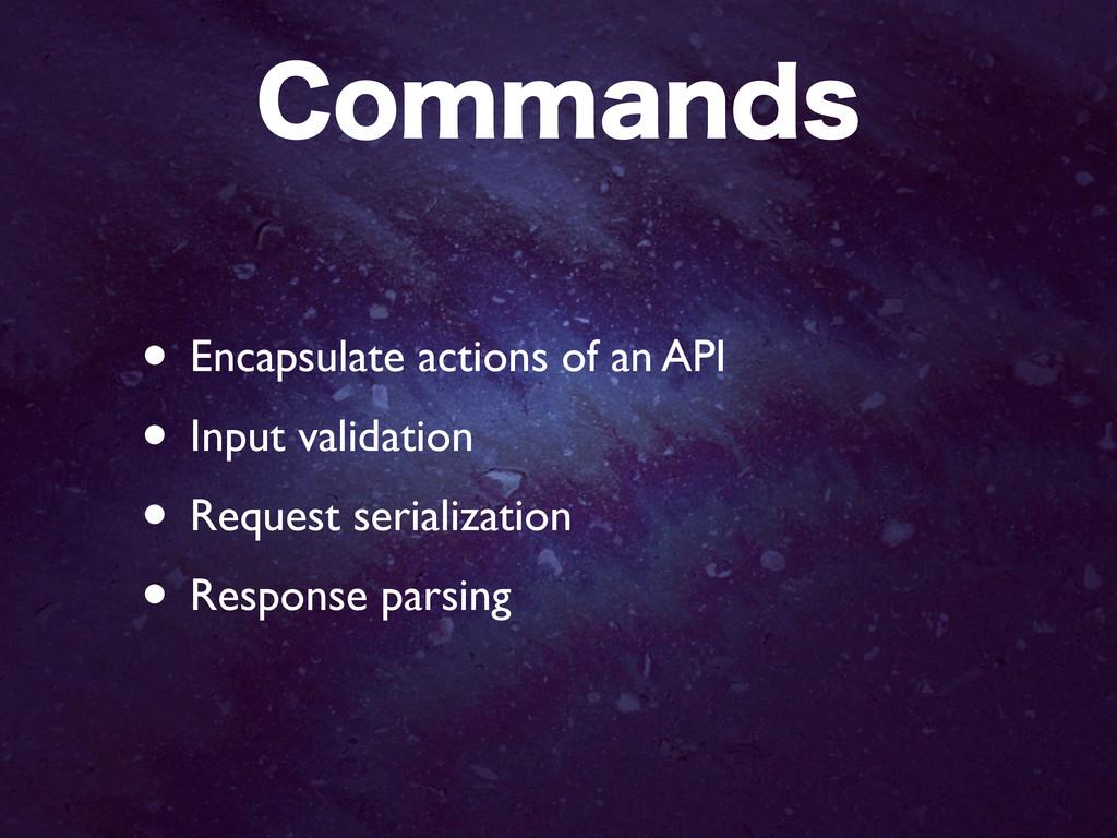 $PNNBOET • Encapsulate actions of an API • Inpu...