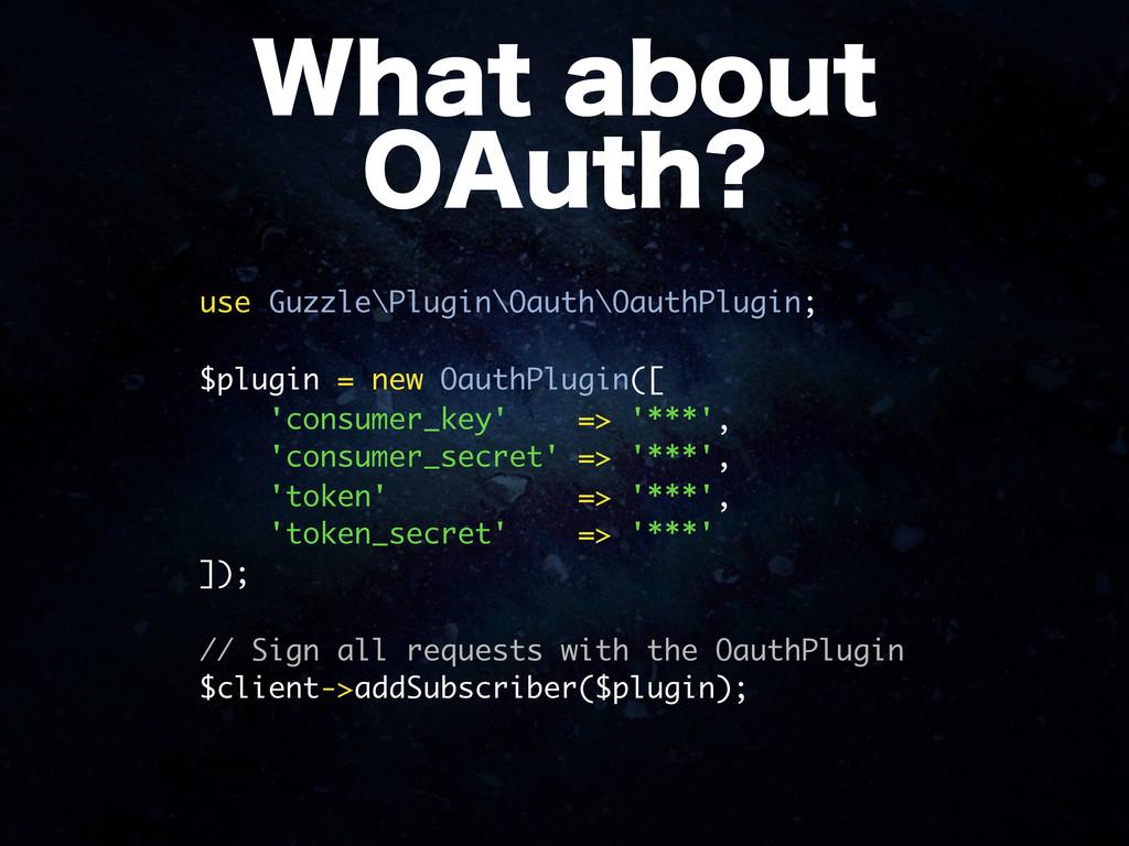 """8IBUBCPVU 0""""VUI use Guzzle\Plugin\Oauth\Oauth..."""