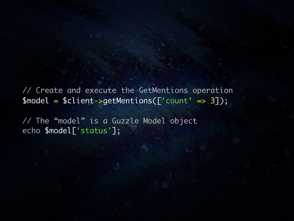 // Create and execute the GetMentions operation...