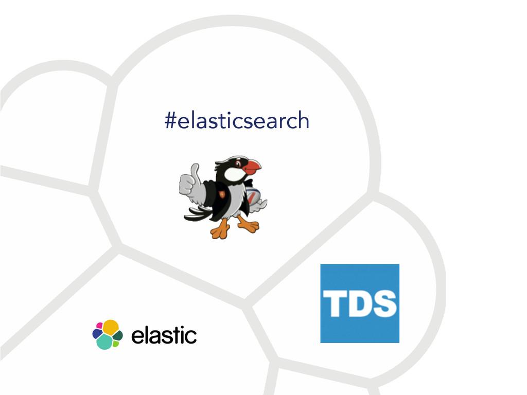 #elasticsearch