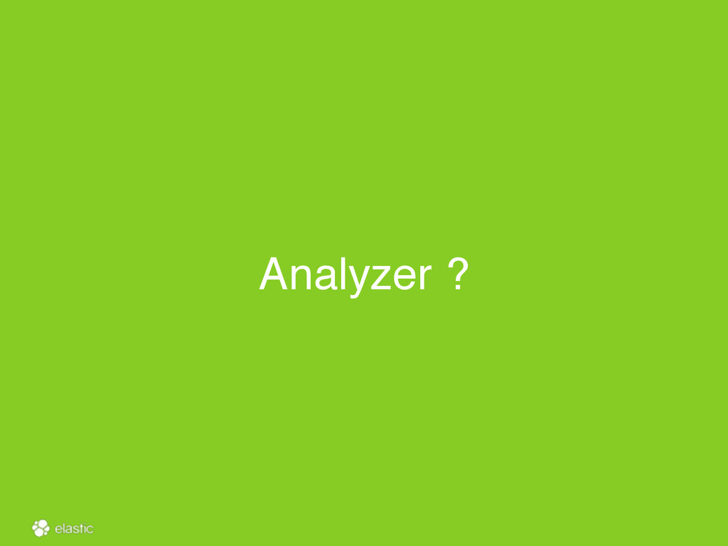 Analyzer ?