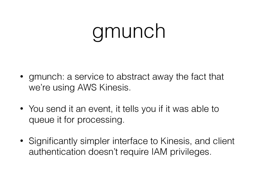 gmunch • gmunch: a service to abstract away the...