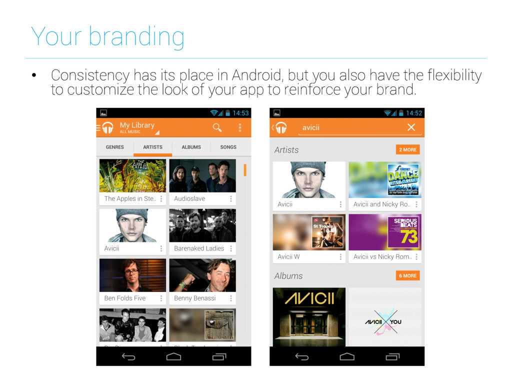 Your branding • Consistency has its place in A...