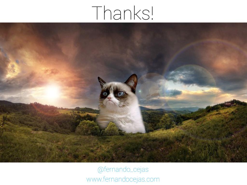 Thanks! @fernando_cejas www.fernandocejas.com