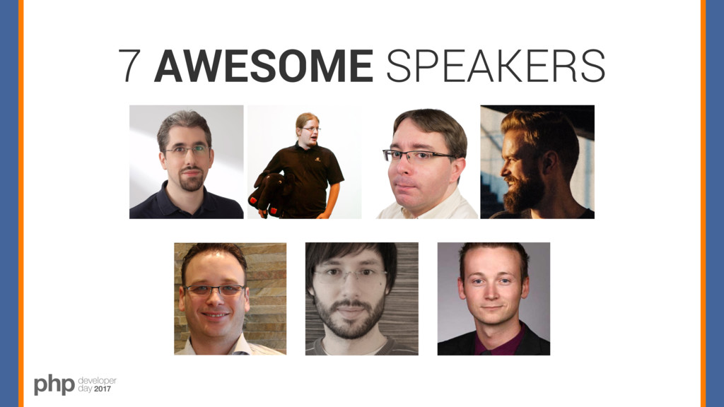 7 AWESOME SPEAKERS