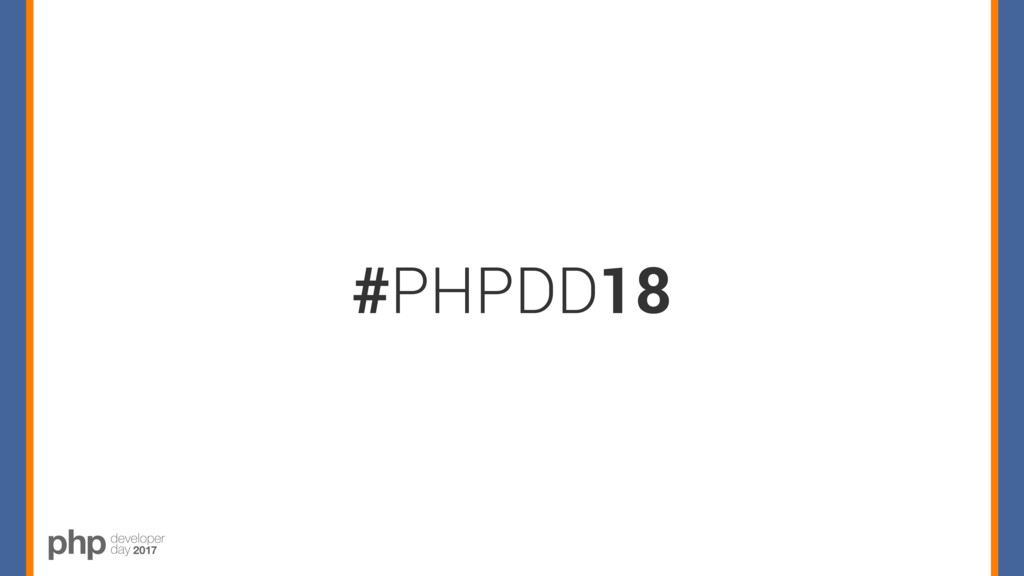 #PHPDD18