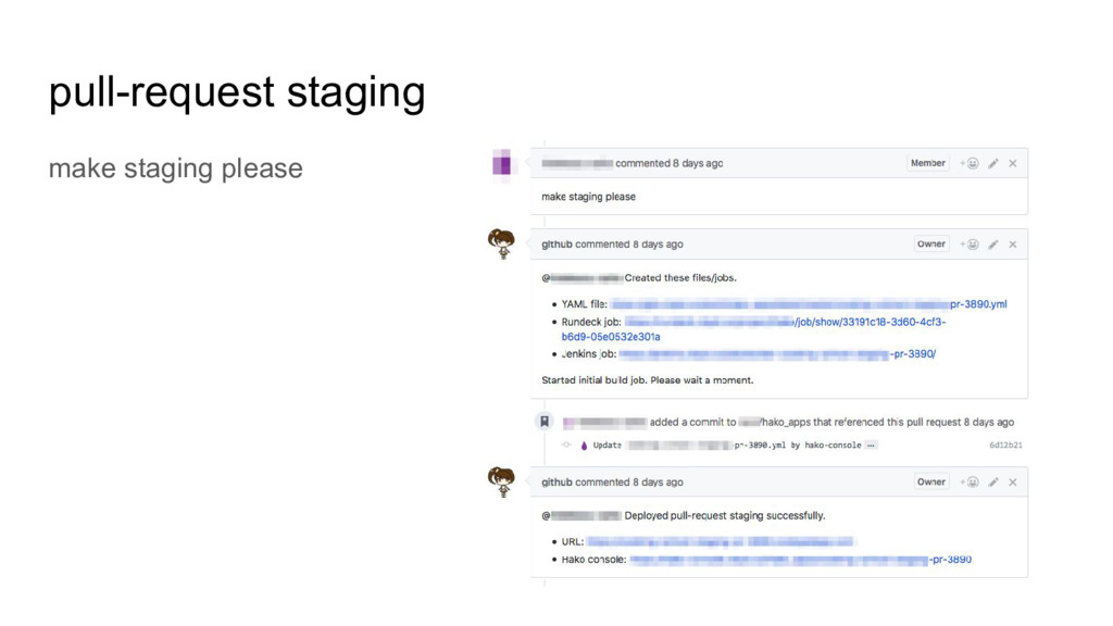 pull-request staging make staging please