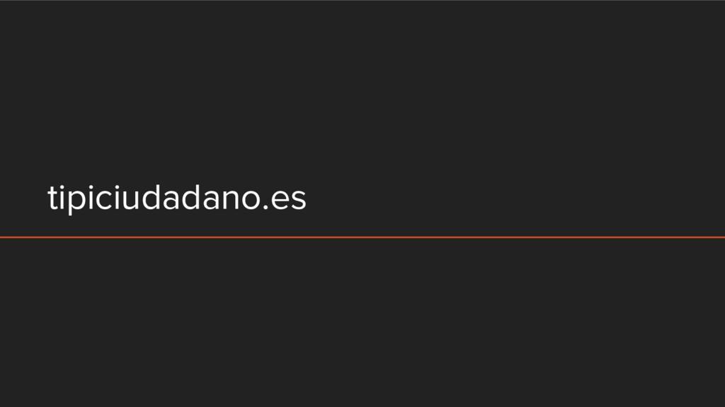 tipiciudadano.es
