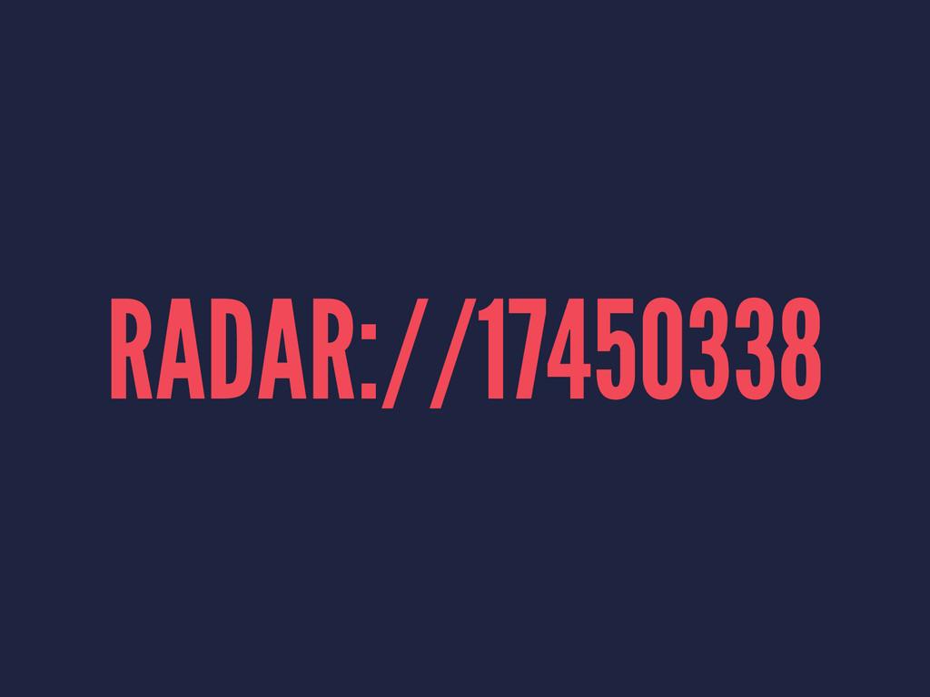 RADAR://17450338