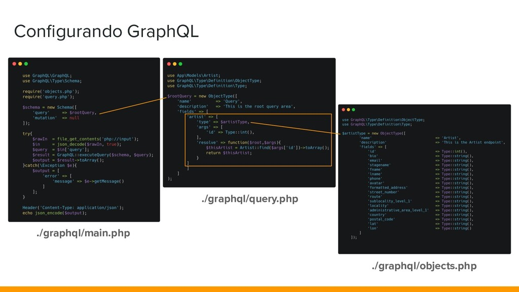 Configurando GraphQL ./graphql/main.php ./graphq...