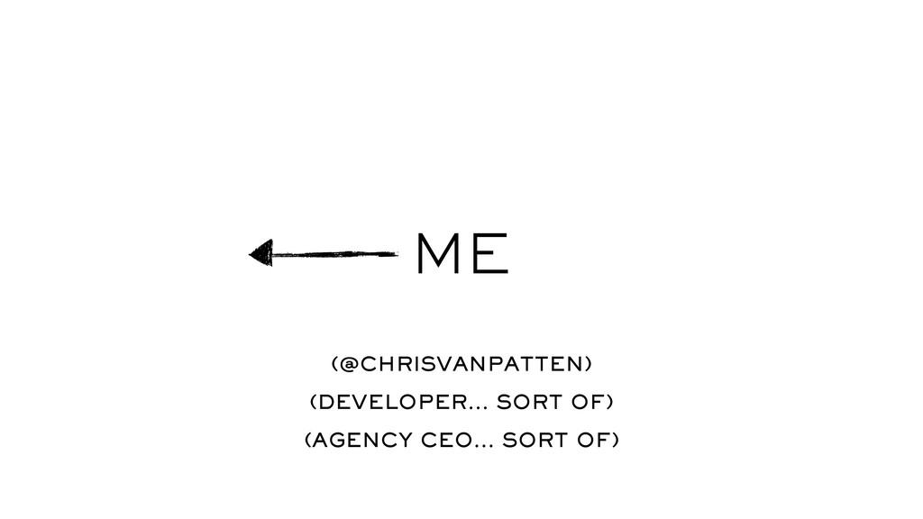 ME (@CHRISVANPATTEN) (DEVELOPER… SORT OF) (AGEN...