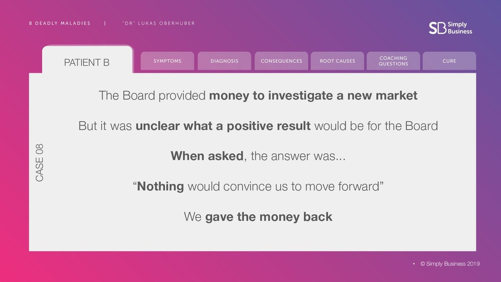 The Board provided money to investigate a new m...