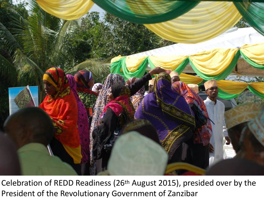 Celebration of REDD Readiness (26th August 2015...