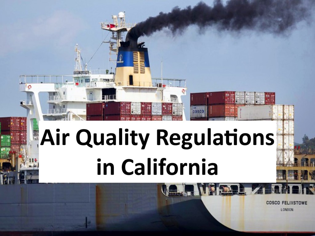 Air Quality Regula6ons in California