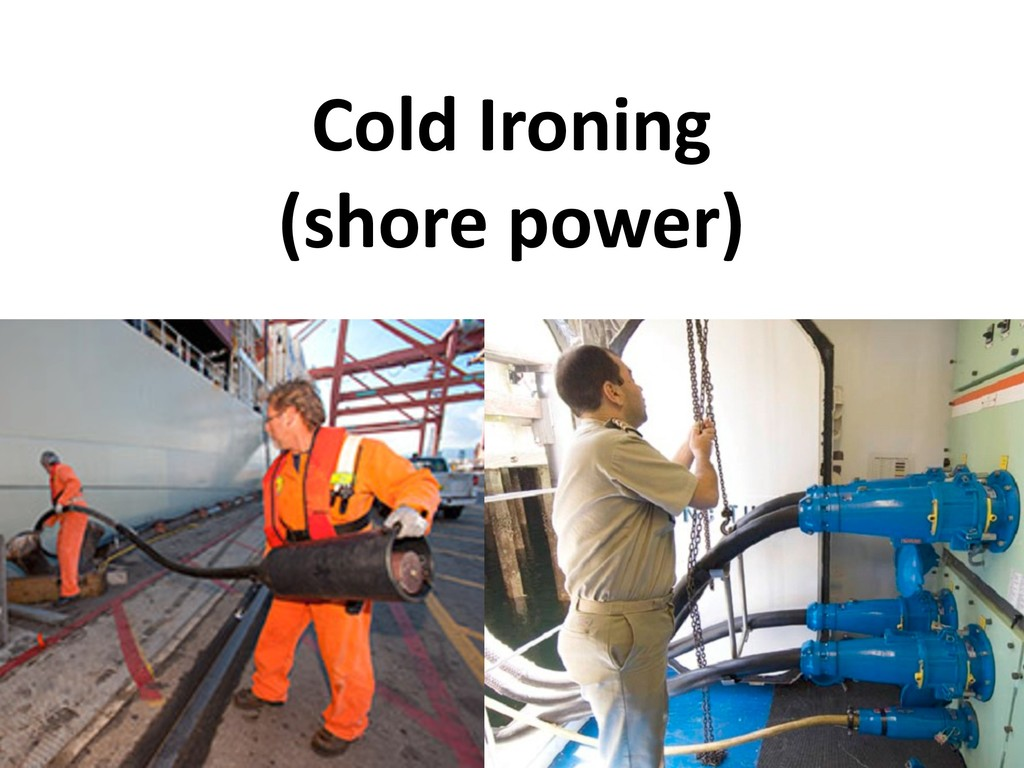 Cold Ironing (shore power)