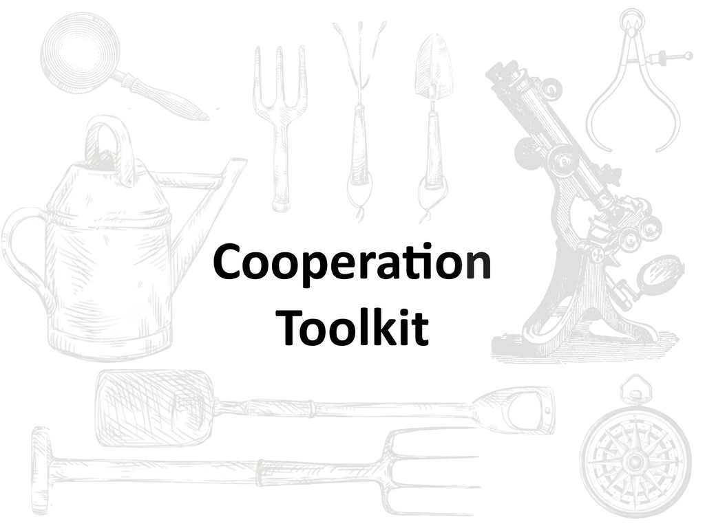 Coopera6on Toolkit