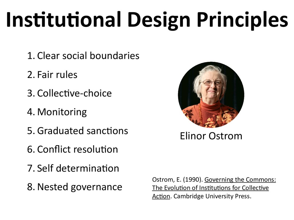 Ins6tu6onal Design Principles 1. Clear social b...
