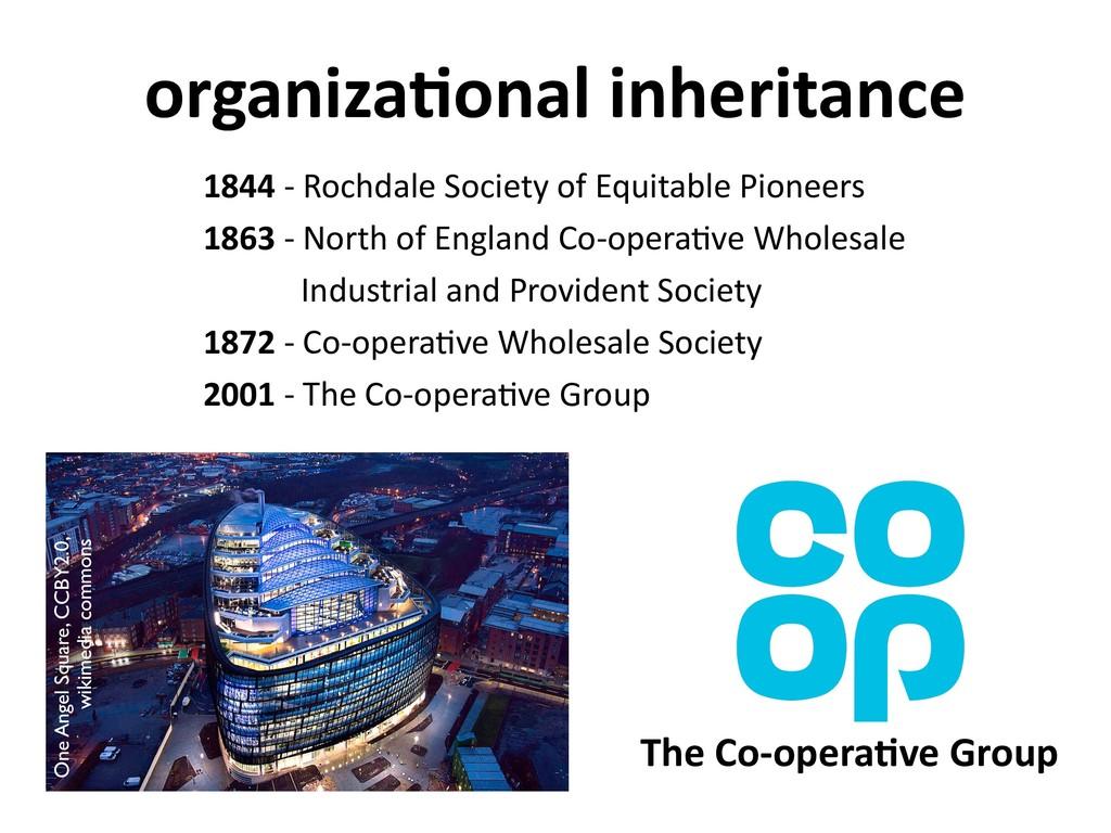 organiza6onal inheritance 1844 - Rochdale Socie...
