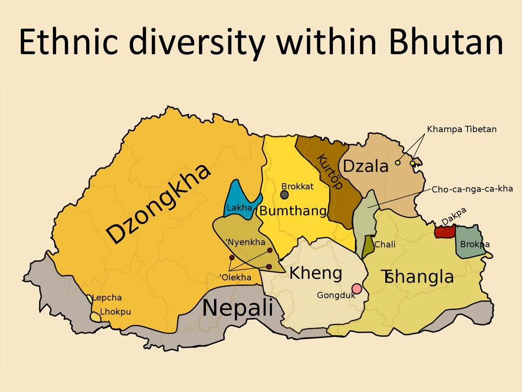Ethnic diversity within Bhutan