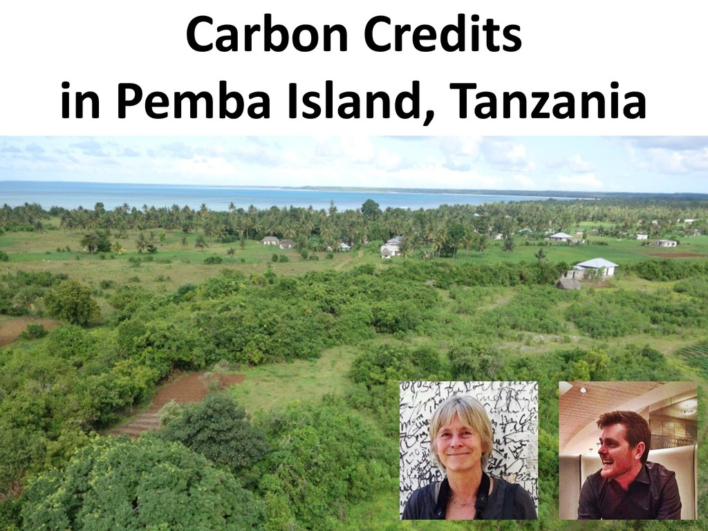Carbon Credits in Pemba Island, Tanzania