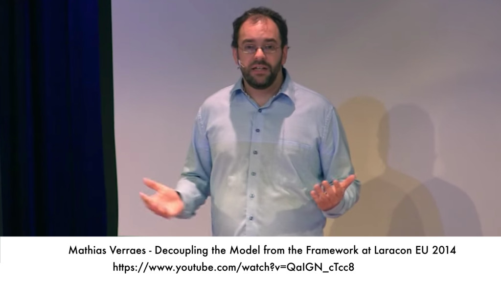 Mathias Verraes - Decoupling the Model from the...