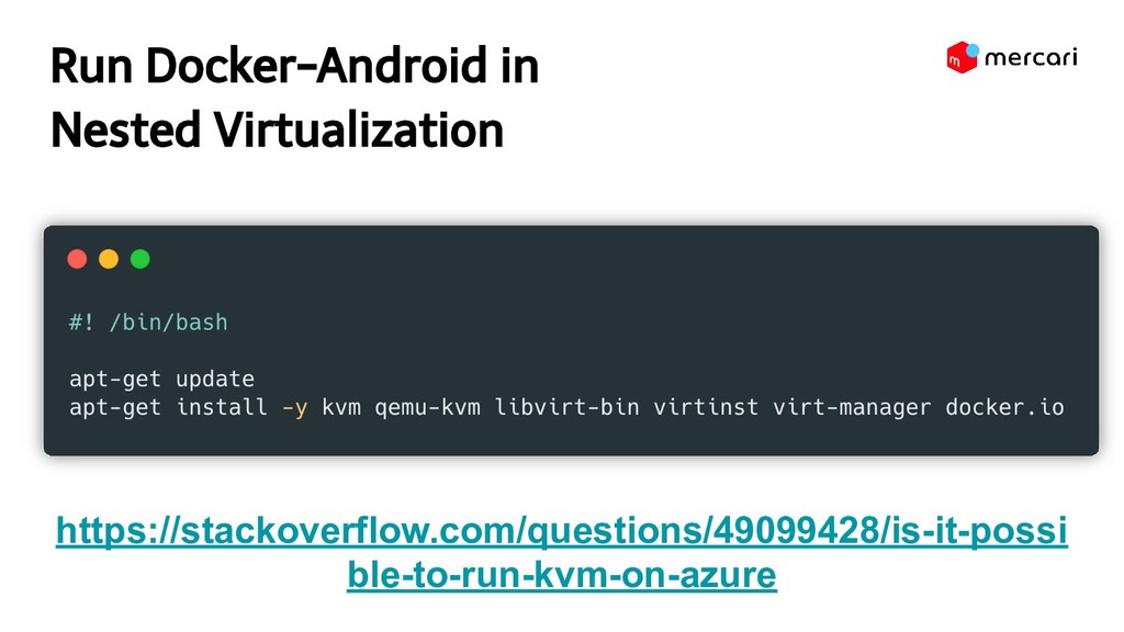Run Docker-Android in Nested Virtualization ht...