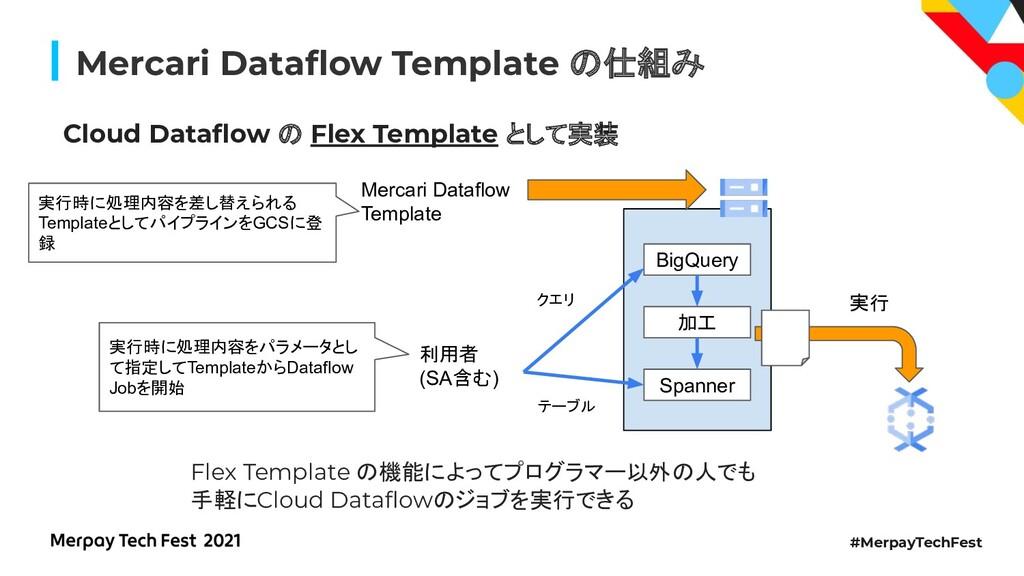 #MerpayTechFest Mercari Dataflow Template 仕組み Cl...