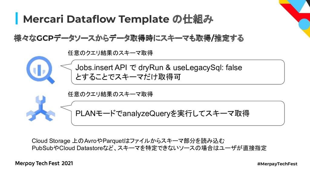 #MerpayTechFest Mercari Dataflow Template 仕組み 様々...