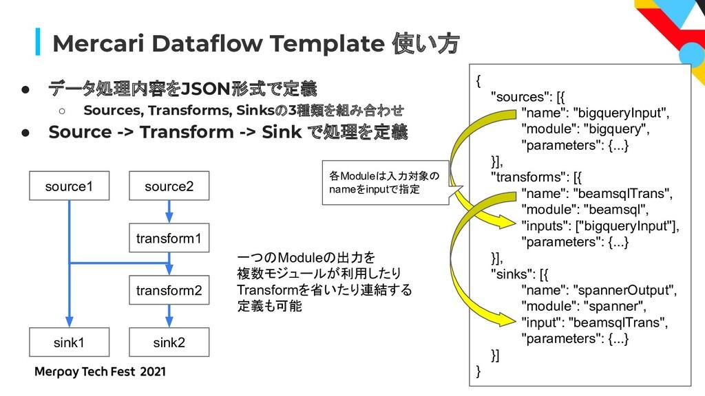 #MerpayTechFest Mercari Dataflow Template 使い方 ● ...