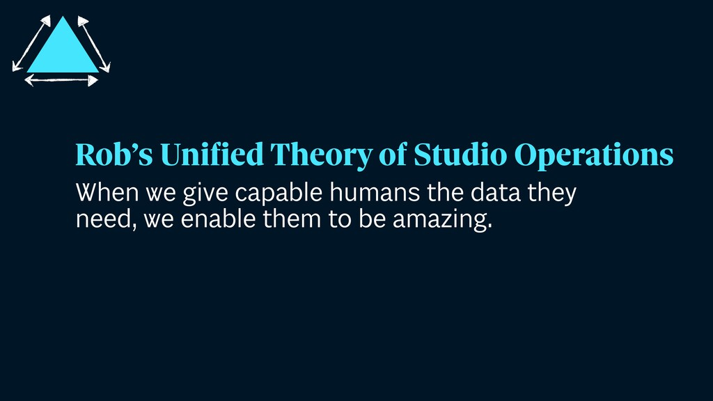 When we give capable humans the data they need,...