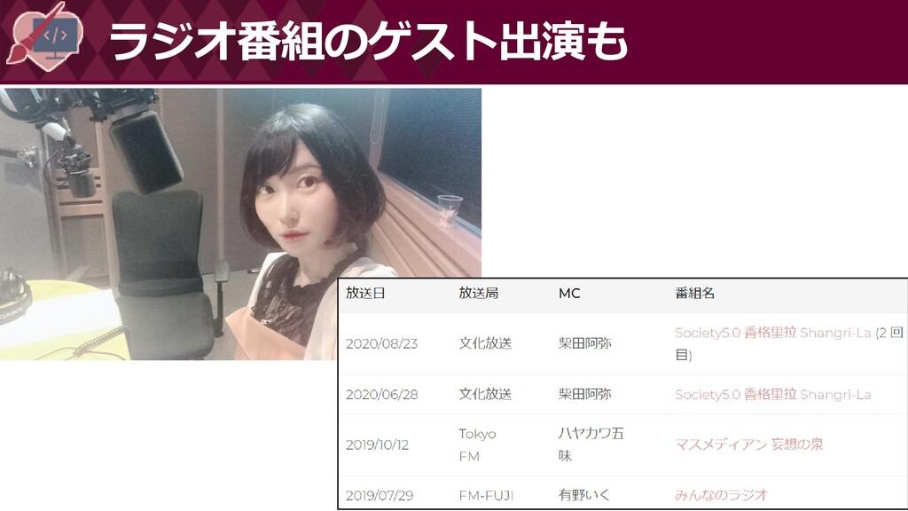 #情報化シンポジウム広島 ラジオ番組のゲスト出演も