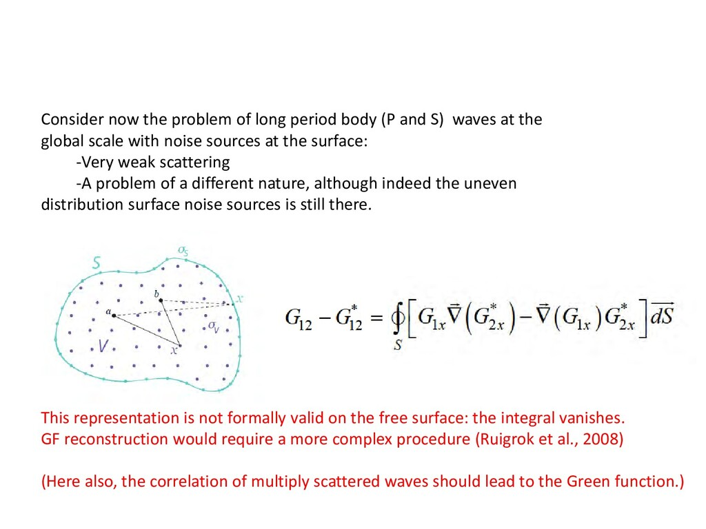 Consider now the problem of long period body (P...