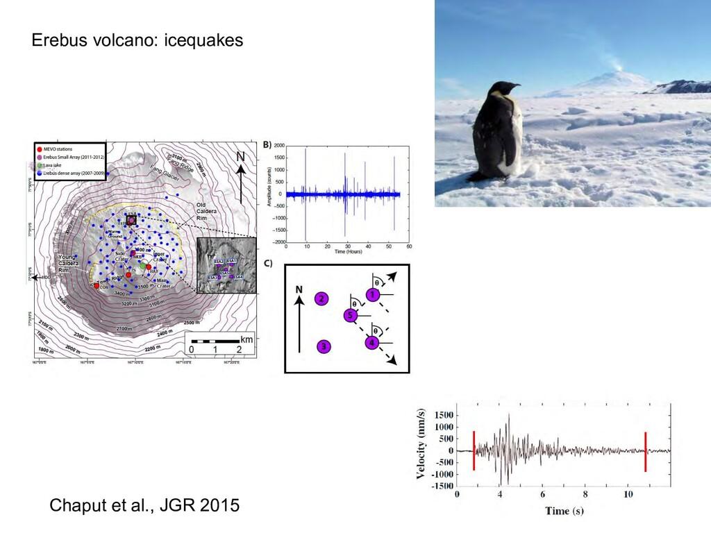 Chaput et al., JGR 2015 Erebus volcano: icequak...