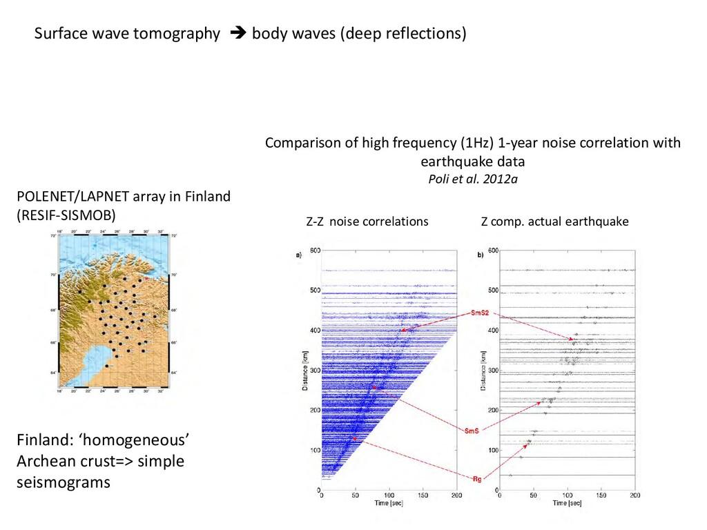 POLENET/LAPNET array in Finland (RESIF-SISMOB) ...