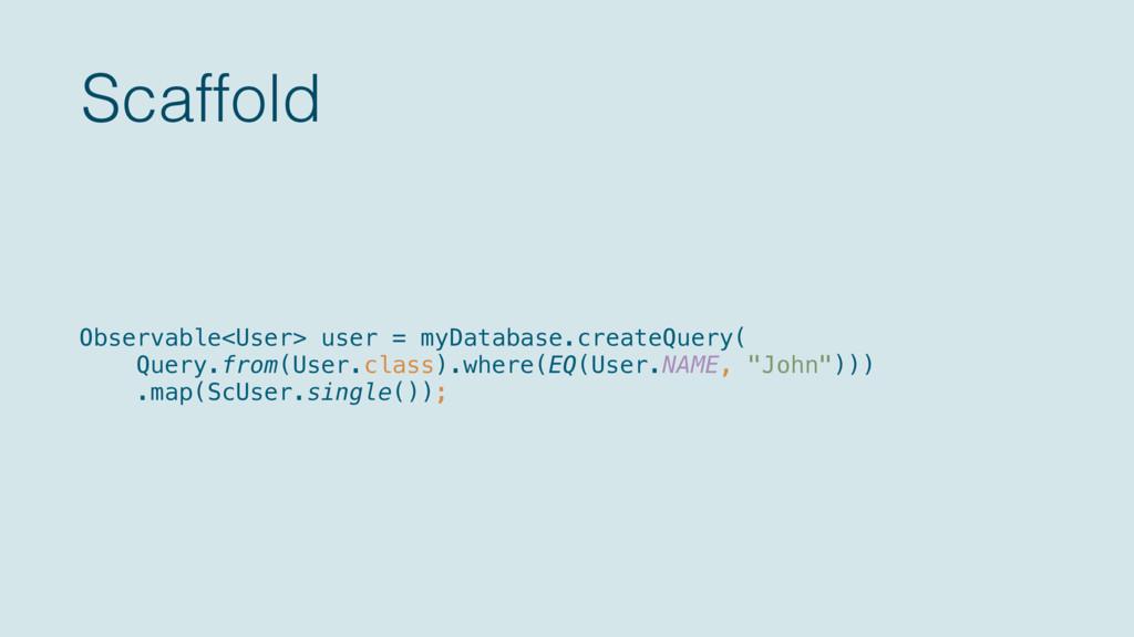 Scaffold Observable<User> user = myDatabase.cre...