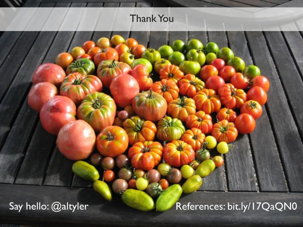Thank You Say hello: @altyler References: bit.l...