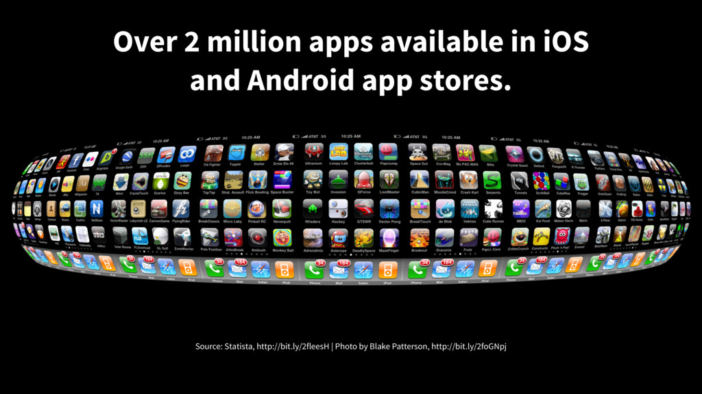 Over 2 million apps available in iOS and Androi...