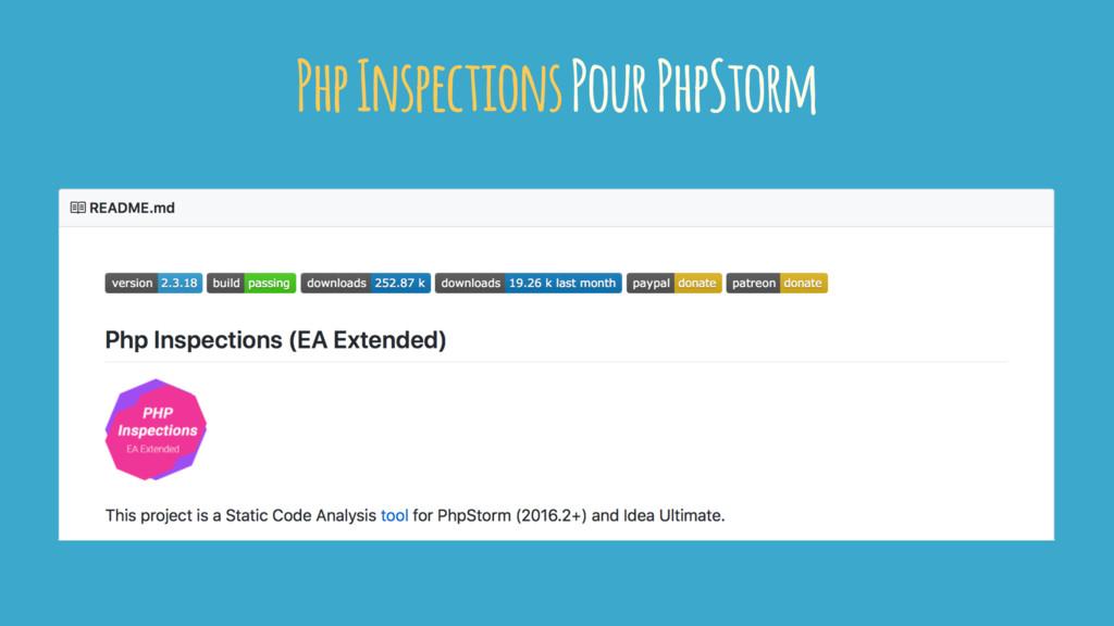 Php Inspections Pour PhpStorm