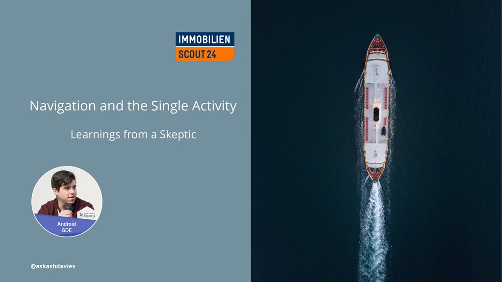 Navigation and the Single Activity Learnings fr...