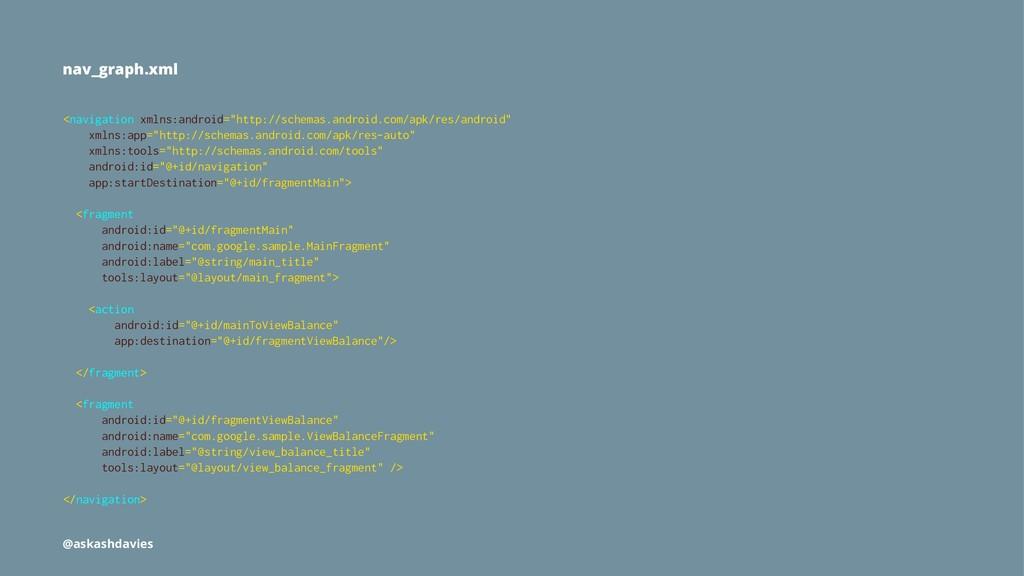 "nav_graph.xml <navigation xmlns:android=""http:/..."