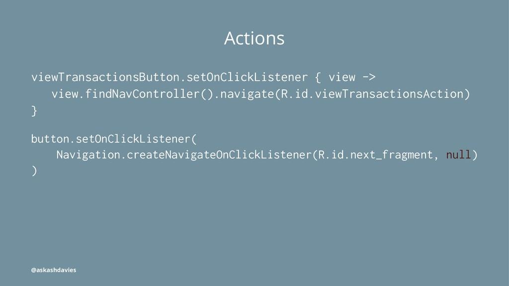Actions viewTransactionsButton.setOnClickListen...