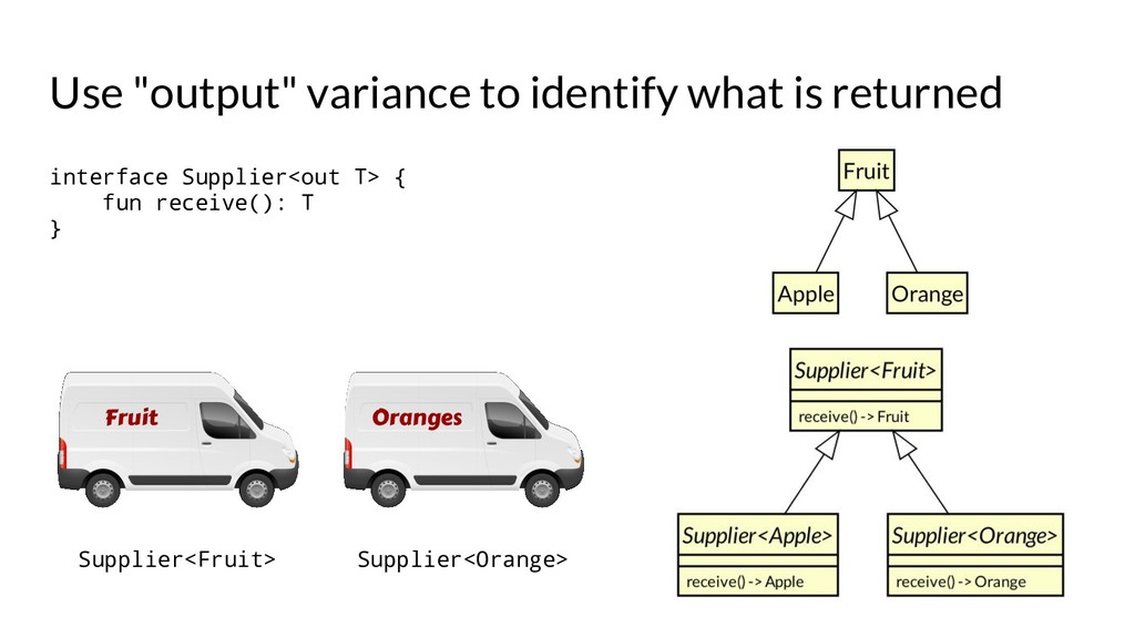 "Use ""output"" variance to identify what is retur..."