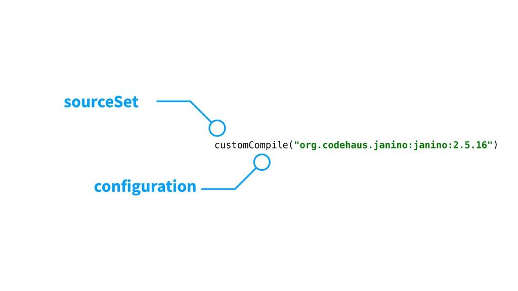 """customCompile(""""org.codehaus.janino:janino:2.5.1..."""