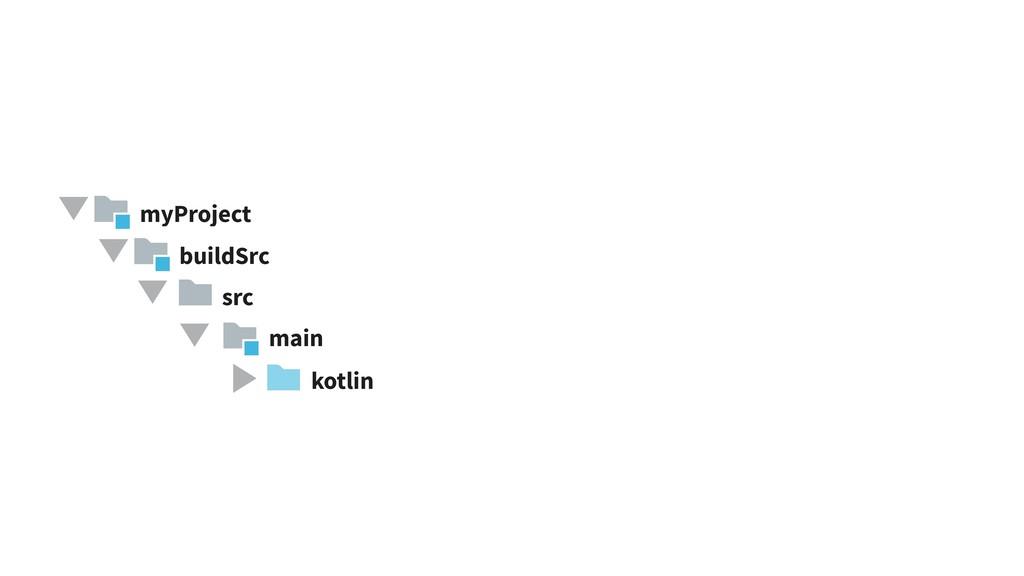 src main buildSrc kotlin myProject