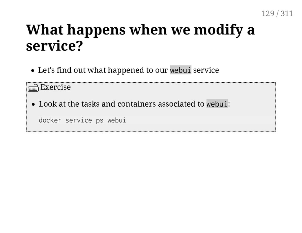 What happens when we modify a service? Let's fi...