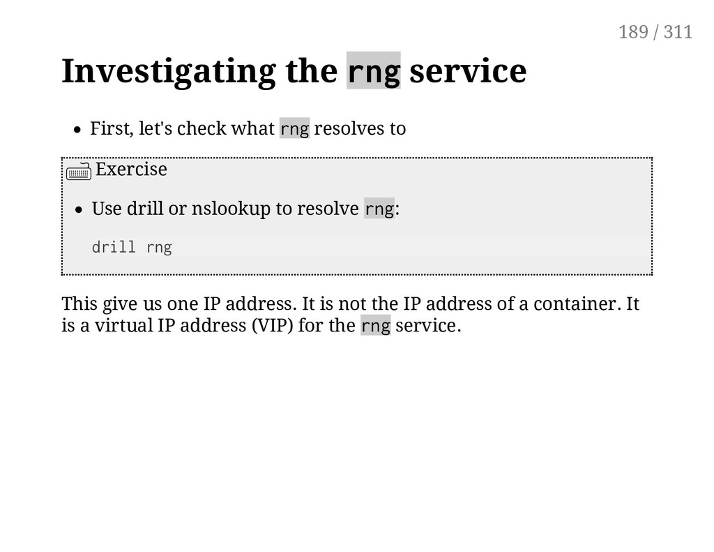 Investigating the rng service First, let's chec...