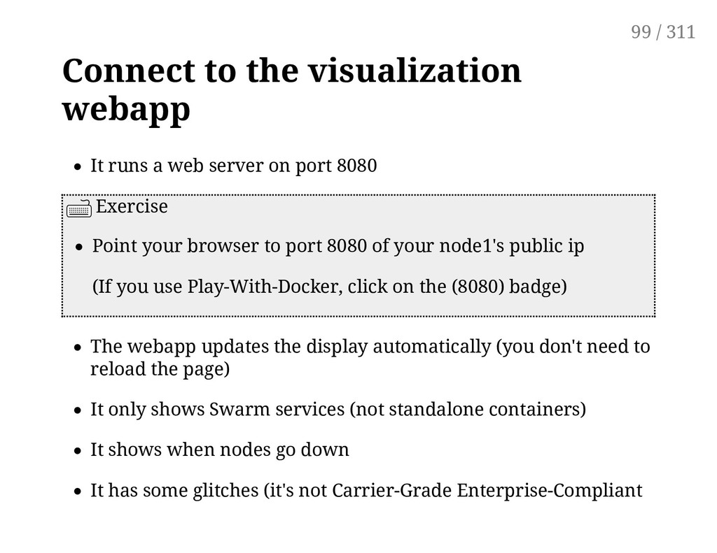 Connect to the visualization webapp It runs a w...